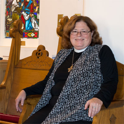 The Very Rev. Julie Nan Harris, Rector