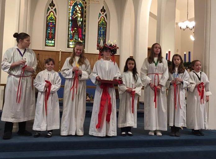 Santa Lucia and St. Nicholas Celebration